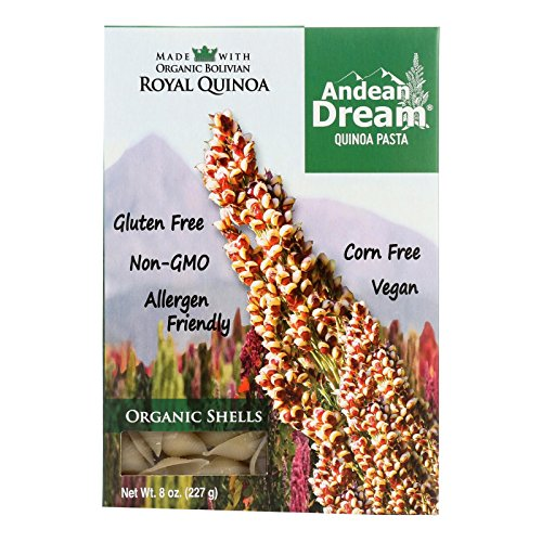 Organic Quinoa Shells Pasta 8 Ounces (Case of 12)