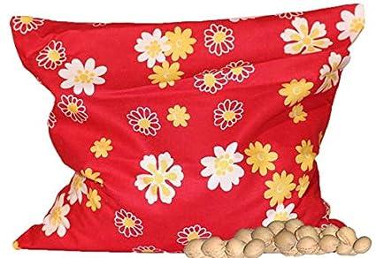 Bolsas de huesos de Cereza amarillo/Blancas Floral (24x24 ...