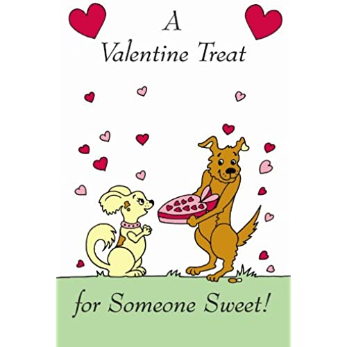 A Valentine Treat for Someone Sweet Edible Crunch Card for Dogs Sales