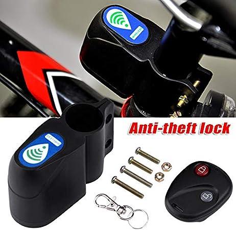 Remaxm - Candado para Bicicleta (antirrobo, Bloqueo para Bicicleta ...