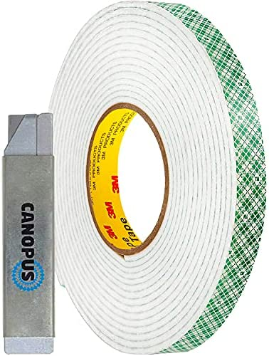 Quality Double Sided 3D White Foam Sticky Tape Roll Adhesive Card Making Craft