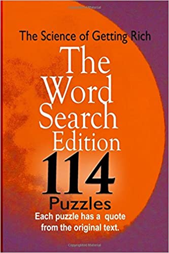 The Science Of Getting Rich The Word Search Edition Patricia A
