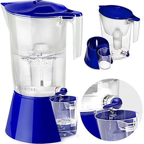 DRIKMAN Universal Water Filter Pitcher buy dispenser on amazon Image