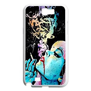 JenneySt Phone CaseSexy Red Lips Pattern For Samsung Galaxy Note 2 Case -CASE-4