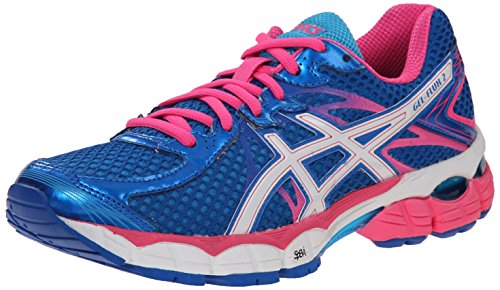 Women's White Shoe Gel Turquioise Running ASICS Electric 2 Flux Blue d18wdxgFq