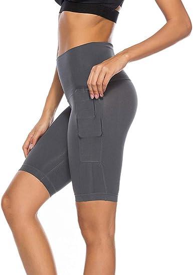 Pantalones Yoga Mujer Mujer PantalóN Corto Pantalones Cortos Mujer ...