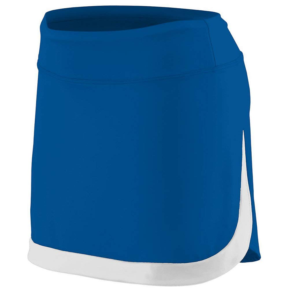 Augusta Sports Girls Small Royal/White Skort by Augusta Sports