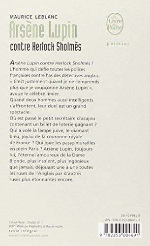 Arsene Lupin Contre Herlock Sholmes (French Edition)