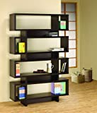 Coaster Home Furnishings 4-Tier Bookcase Cappuccino Review