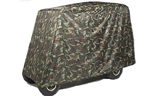 Greenline 4 Passenger Golf Car Cover (Camo, 106x47.5x62-Inch)
