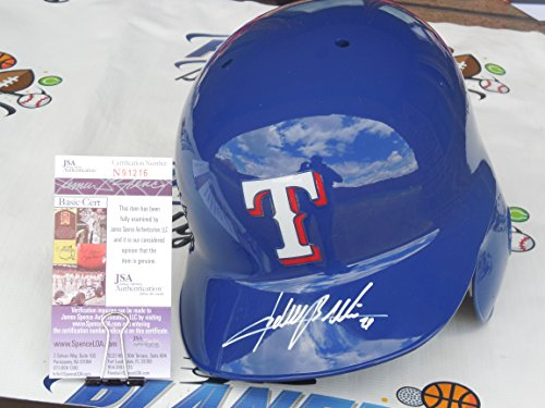 Adrian Beltre Signed Texas Rangers Full Size Authentic Batting Helmet JSA COA by Rawlings