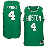 Isaiah Thomas Youth Boston Celtics Green Replica Basketball Jersey by Outerstuff (L=14-16)