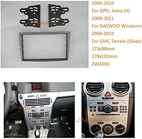 Car Radio Fascia Stereo frame facias for Toyota Venza Install Dash Bezel Kit
