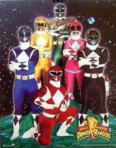 Amazon.com: The Mighty Morphin Power Rangers 16x20 Cast
