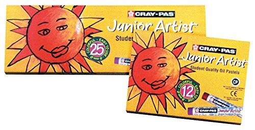 sakura-xep-049-12-piece-cray-pas-junior-artist-oil-pastel-set-black