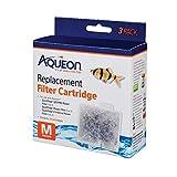 Aqueon QuietFlow Filter Cartridge, Medium, 3-Pack