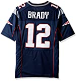 "Nike (Not Fake ""On-Field"" or NFL Brands) NFL New England Patriots Tom Brady Jersey Navy"