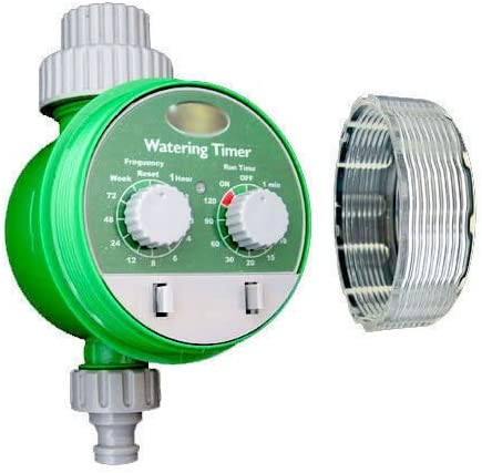 AUTOMATIC ELECTRONIC WATER TIMER GARDEN HOSE PLANT FOR IRRIGATION SYSTEM