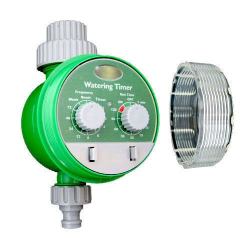AUTOMATIC ELECTRONIC WATER GARDEN HOSE WATERING TIMER IRRIGATION SYSTEM PLANT marksman