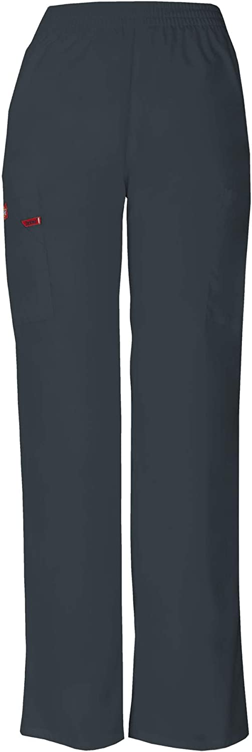 Dickies EDS Signature Women Scrubs Pant Natural Rise Tapered Leg Pull-On 86106