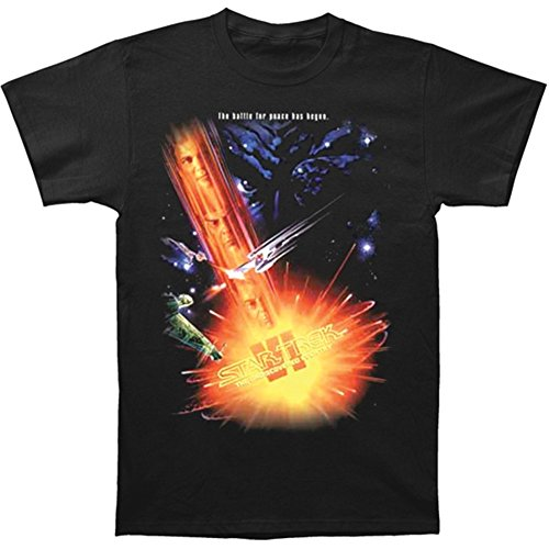 Star Trek The Undiscovered Country Star Trek Motion Picture Poster T-Shirt