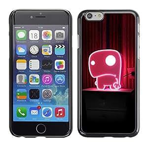 Cubierta de la caja de protección la piel dura para el Apple iPhone 6PLUS (5.7) - Sunrise Planet Earth