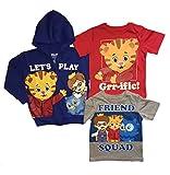 Daniel Tiger's Neighborhood Toddler Boys 3 pc. Shirt Hoodie Set (5T)