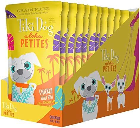 Dog Food: Tiki Dog Aloha Petites Pouches
