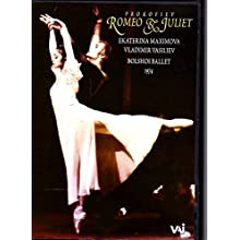 Prokofiev - Romeo and Juliet (Maximova, Vasiliev) [Reino Unido] [DVD]