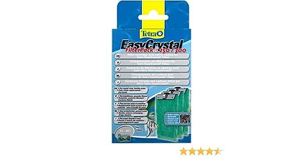 Tetratec Easy Crystal Filter Pack C250/300 carbón activado, paquete de 3.1 unidades: Amazon.es: Bricolaje y herramientas
