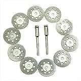 C-Pioneer Rotary Tool Circular Saw Blades Cutting Wheel Discs Mandrel Dremel Cutoff