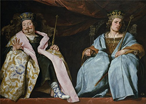 Polyster Canvas ,the Cheap But Art Decorative Art Decorative Canvas Prints Of Oil Painting 'Cano Alonso Dos Reyes De Espana Ca. 1641 ', 16 X 22 Inch / 41 X 57 Cm Is Best For Foyer Decor And Home Decor And Gifts