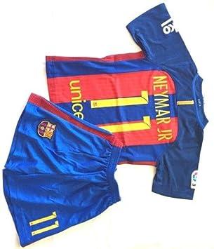 FC Barcelona Neymar casa uniforme de fútbol para niños 2016 ...
