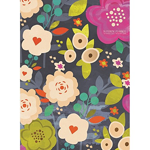 2018 Blooming Monthly Planner