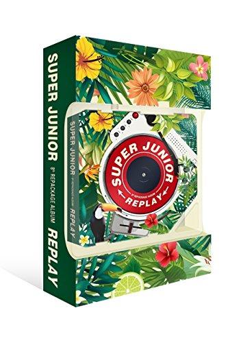 SM Entertainment SUPER JUNIOR - REPLAY KIHNO ALBUM (Vol.8 Repackage) KIHNO KIT+14Photocards+Free Gift