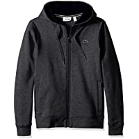 Lacoste Men's Full Zip Hoodie Fleece Sweatshirt, Sh7609