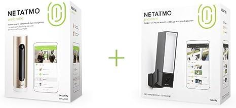 Netatmo Welcome Wlan Kamera Mit Gesichtserkennung Nsc01 Eu Netatmo Presence Outdoor Sicherheitskamera Mit Erkennung Von Menschen Fahrzeugen Und Tieren Baumarkt