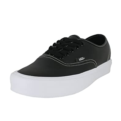 2faf7b2e97a3d3 Vans Mens Authentic LITE Tumble Black Size 7.5