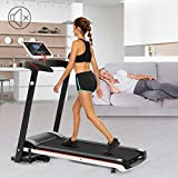 Benlet 2.5HP Electric Treadmill, Folding Motorized Treadmill Walking Running Machine for Home Gym Workout Fitness Exercise Equipment