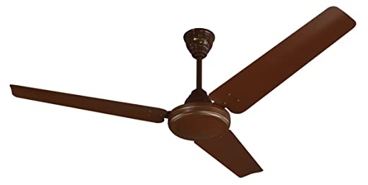 Bajaj Speedster 1200 mm Ceiling Fan (Matt Brown) Ceiling Fans at amazon