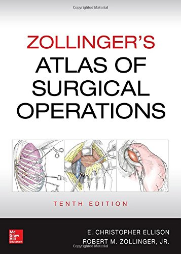Zollinger's Atlas of Surgical Operations, Tenth Edition