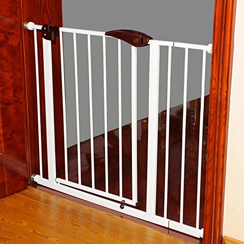 Fairy Baby Pressure Mount Easy Install Walk Thru Gate,Fit Spaces 68.9''-72.4'' Wide,29.9'' High by Fairy Baby (Image #2)