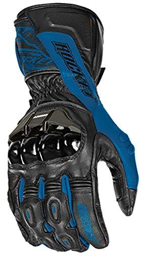 Joe Rocket Flexium TX Men's Motorcycle Gloves (Blue/Black, Small)
