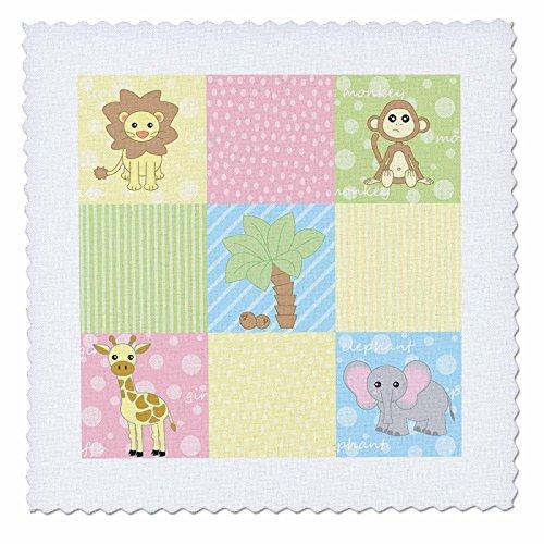 Baby Animal Squares - 7