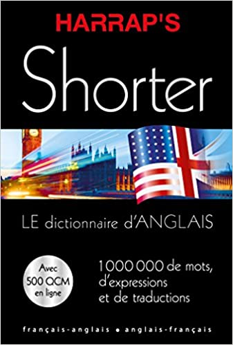 Amazon Com Harrap S Shorter Dictionnaire Anglais Et Francais Harrap S Biling Anglais French And English Edition 9782818704950 Harrap Books