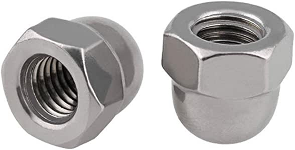 BCP773 10 Ten 1//2-13 Stainless Steel Acorn Hex Cap Nuts