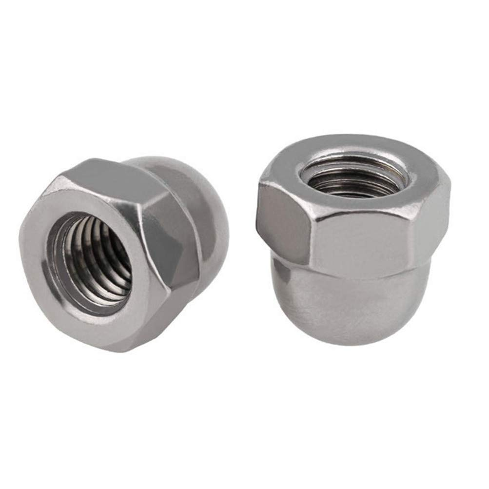 Quantiy 50 5//16-18 Serrated Flange Nuts Stainless Steel 18-8