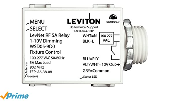 Leviton 0 10v Dimmer Wiring Diagram