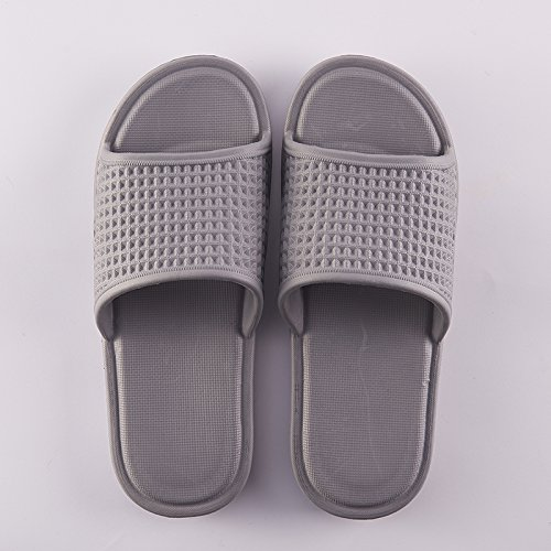 home bathroom Dark with The male 43 bath thick girls anti couples indoors 42 Gray summer summer slippers for slip cool slippers stay fankou q1w655