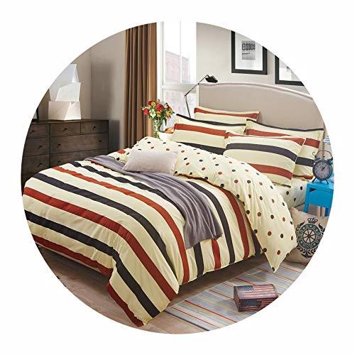 Stardust-shine-bedspread-sets Grey Bedding Set 2019 Summer Bed linens 3or 4pcs/Set Duvet Cover Set Pastoral Bed Set Kids/Adult Bedding,Nake Marry,Full ()